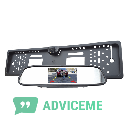 Отзывы о Авторамка на номер с камерой заднего вида + Silane Guard - фото товара