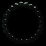 Браслет Бяньши — из черного нефрита