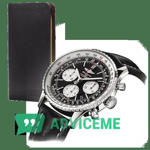 Отзывы о Часы Breitling Navitimer + портмоне Montblanc - фото товара