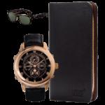 Часы Hublot и портмоне Montblanc + подарок очки Ray Ban