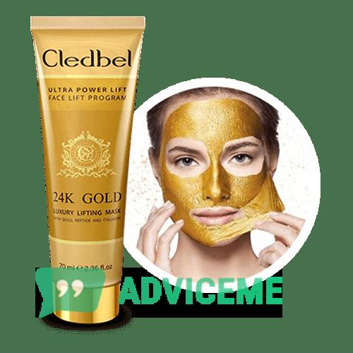 Отзывы о Cledbel 24K Gold — маска-пленка с лифтинг-эффектом - фото товара