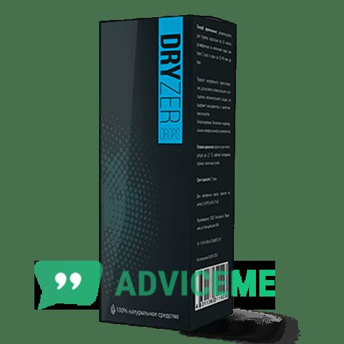 Отзывы о Dryzer — средство от потливости - фото товара