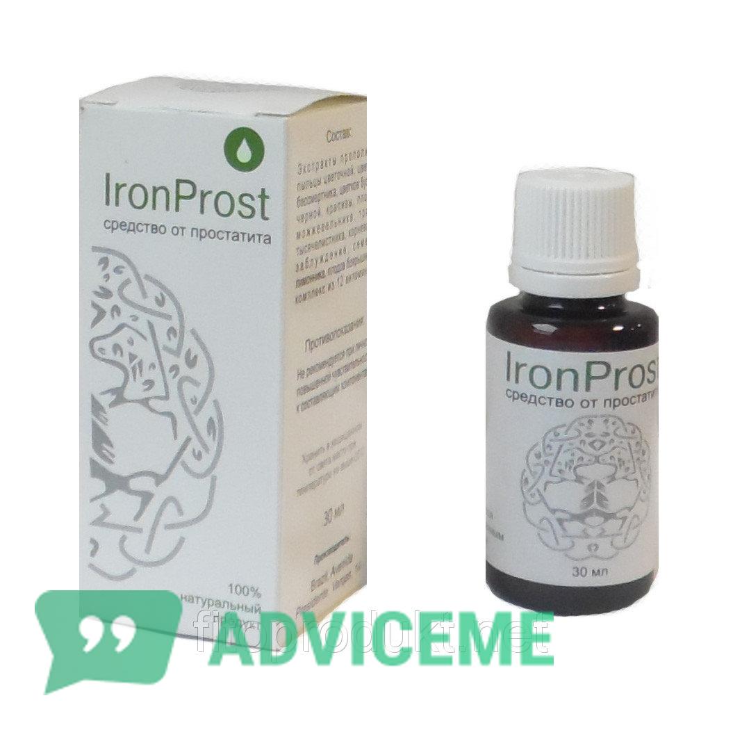 Ironprost от простатита продается в упаковке 30 мл