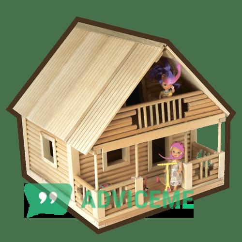 Отзывы о Кукольный эко-домик - фото товара