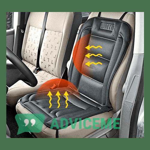Отзывы о Накидки на сиденья с подогревом - фото товара