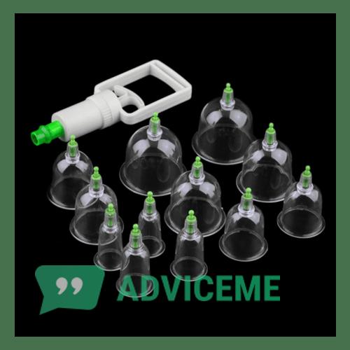 Отзывы о Vacuum Apparatus — массажные банки для суставов - фото товара