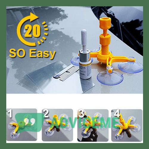 Отзывы о Windshield Repair Kit — набор для ремонта автостекол - фото товара