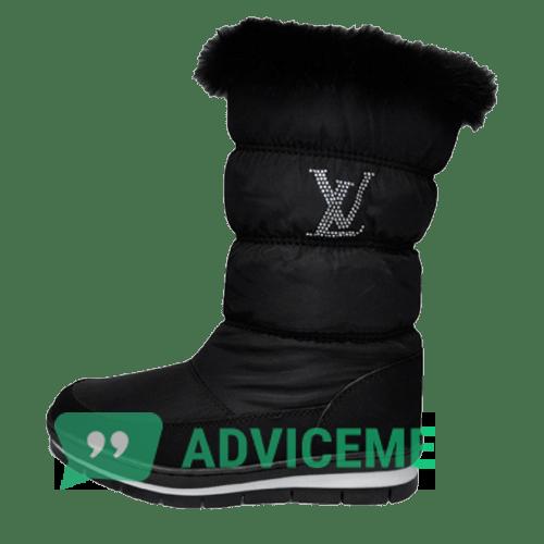 Отзывы о Женские зимние сапоги Louis Vuitton - фото товара