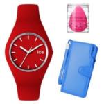 Ice — женские часы, портмоне Baellerry и спонж в подарок