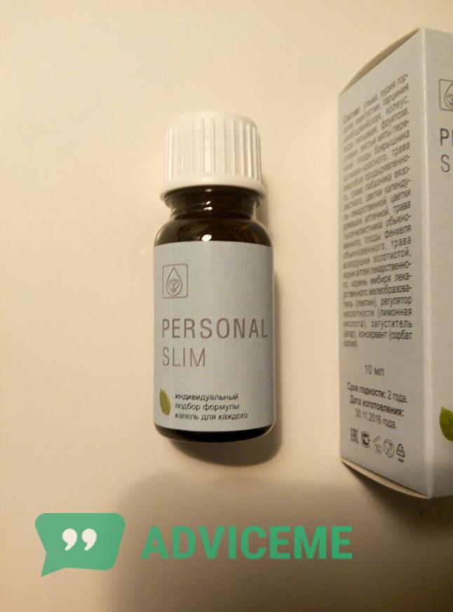 """Отзывы о каплях для похудения """"Personal Slim"""" в основном положительные"""