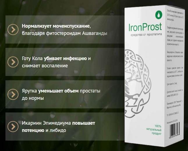 ironprost состав
