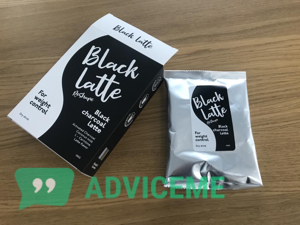 «Black Latte» в упаковке производителя