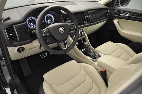 Салон автомобиля, технические характеристики